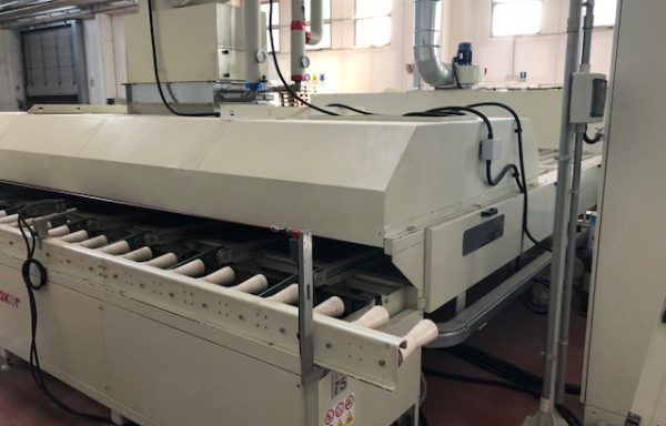 HORIZONTAL OVEN FOR MOULDINGS MAKOR