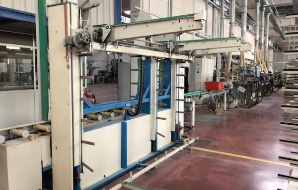 AUTOMATIC TROLLEY STACKER MAKOR