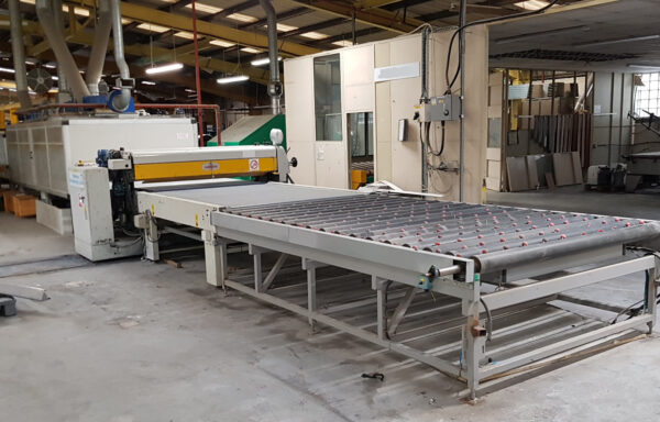 ROLLER FINISHING LINE FOR GLASS SORBINI/CEFLA